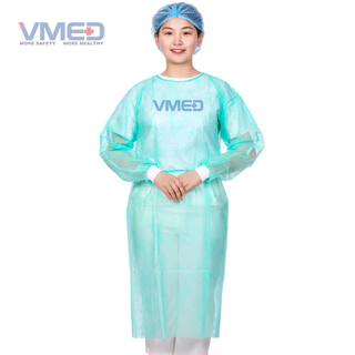 Disposable Green Hospital SPP Surgical Gown