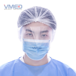 Disposable Professional Food Line Fine Fabric Face Wear