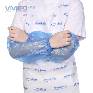 Disposable Blue PE Sleeve Cover