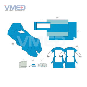 Disposable Sterile Laparoscopy Pack