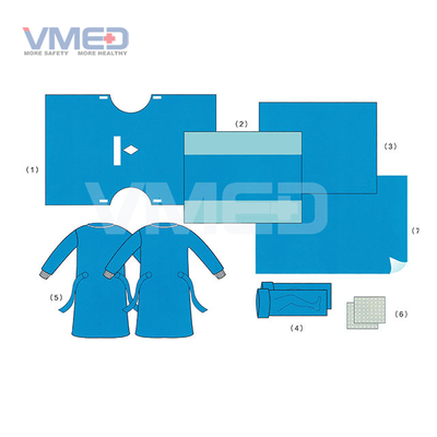 Disposable Sterile Lithotomic Gynaecology/cystoscopy Pack
